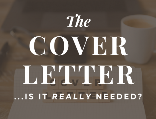 The Importance of a Cover Letter